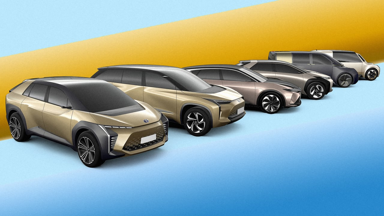 Cars On Line >> See Toyota S All Electric Car Line For 2025