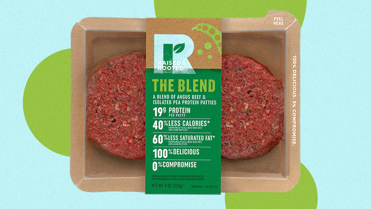 Big Meat Giant Tyson is Launching a New Part-beef, Part-pea Burger