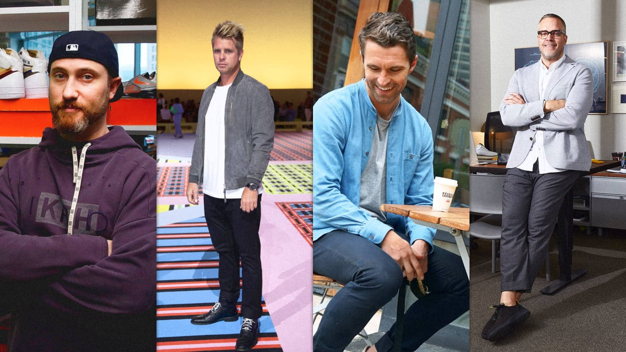 What 4 powerful men wear to work every day