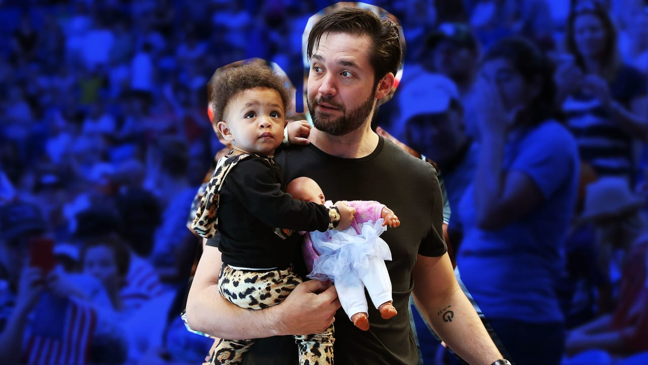 Alexis Ohanian on Paternity Leave, Parenting with Serena, and Perfecting his Dad Jokes