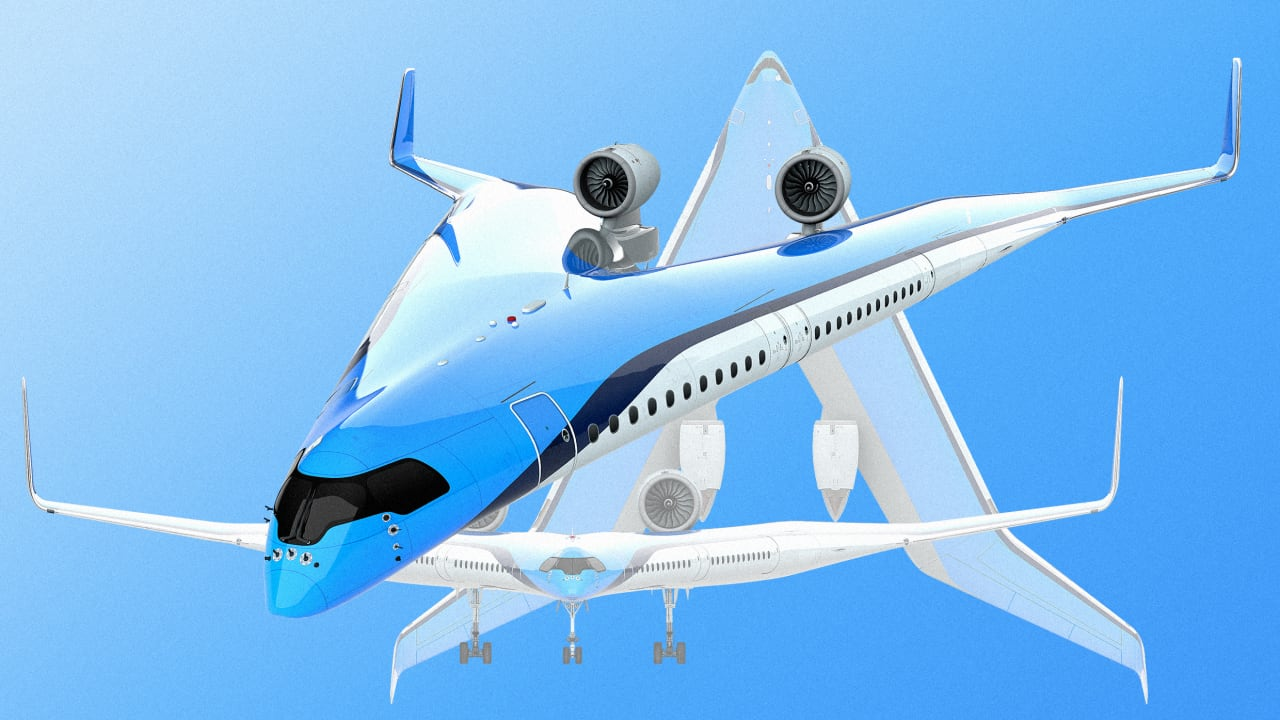 Air France-KLM's radical new plane design could change the way the world flies