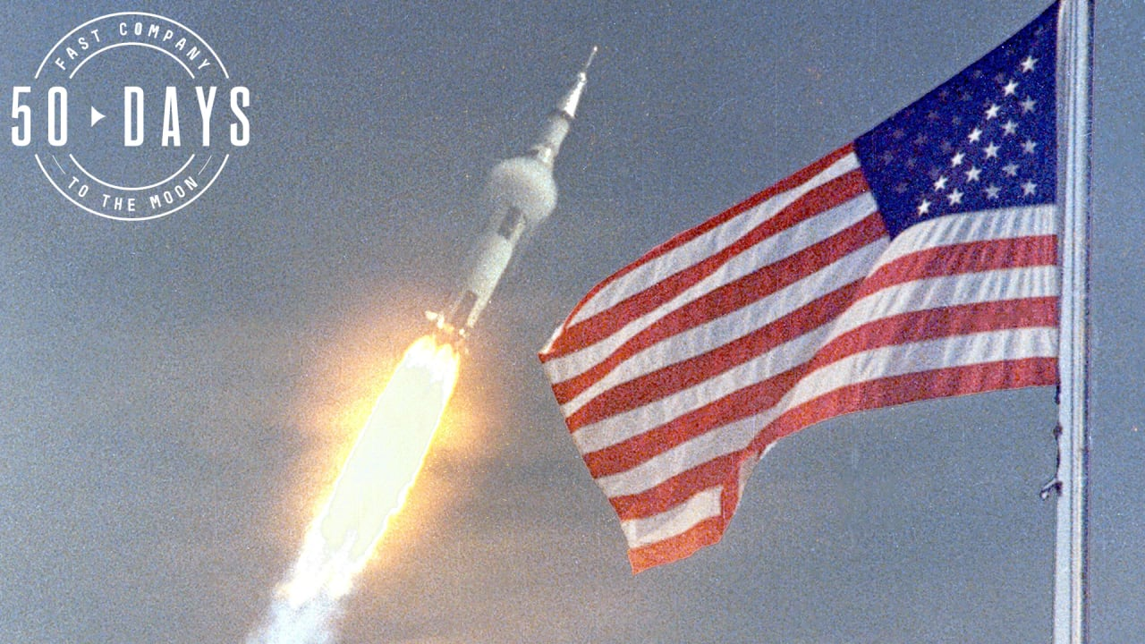 NASA Almost Forgot to Take a Flag to the Moon
