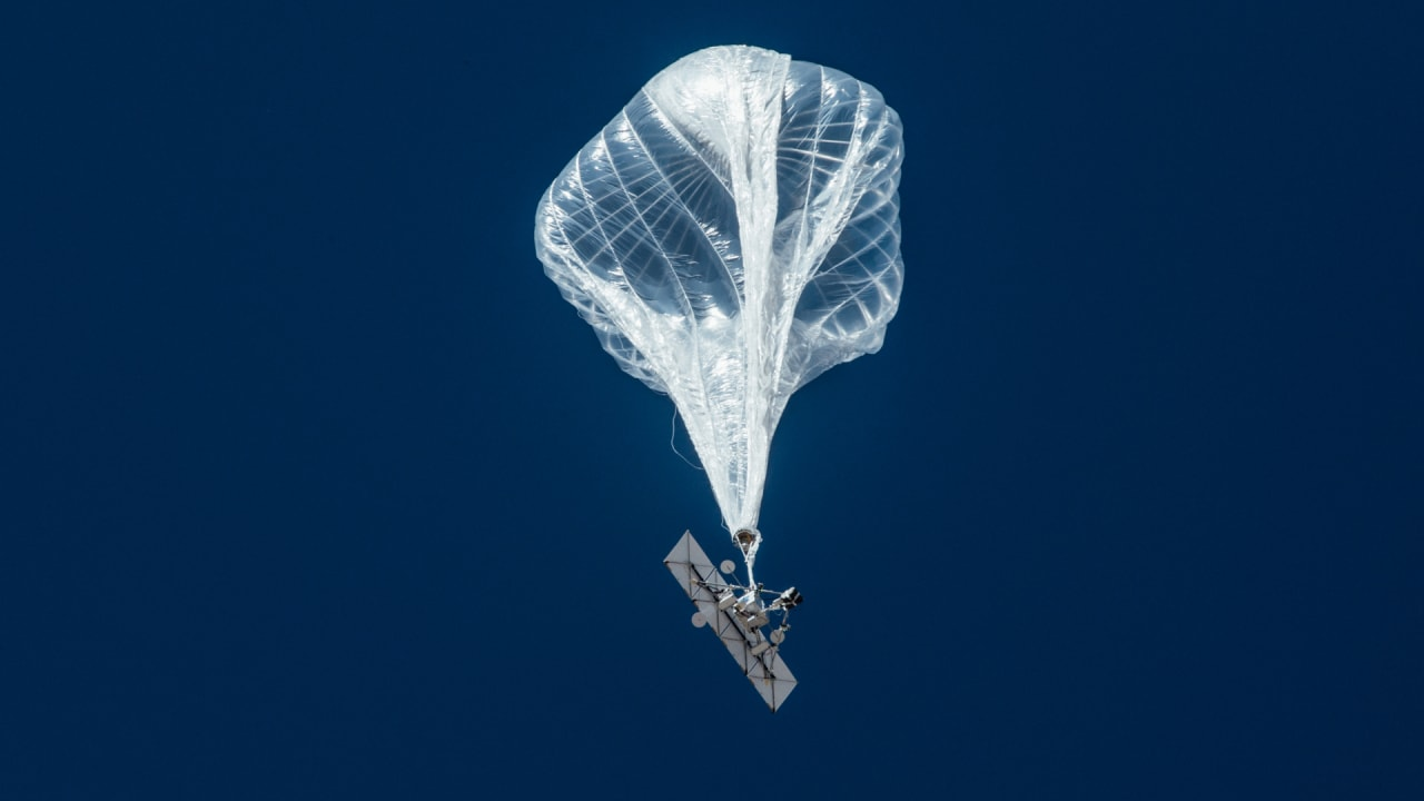 Alphabet's Loon balloons take flight in first commercial trial