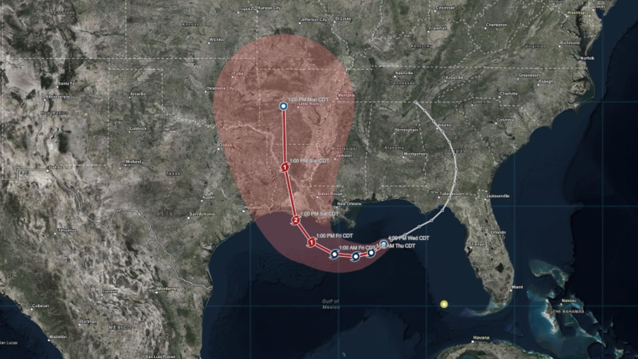 Hurricane Barry live path: 4 real-time ways to track storm