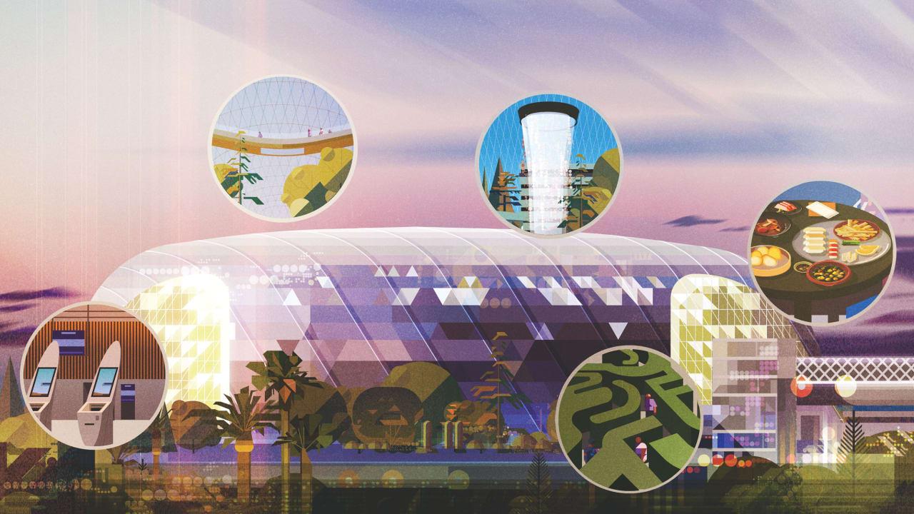 Inside Safdie Architects' $1.3 Billion Jewel Changi Airport Complex