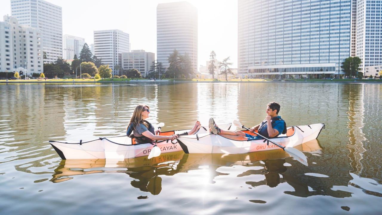 Fast folding kayak