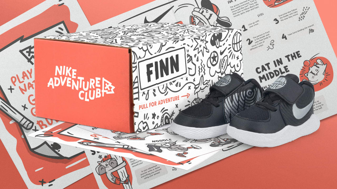 a5c5c9a2 Nike launches Nike Adventure Club, a shoe subscription for kids