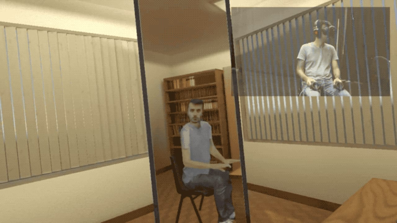 The Weirdest VR Experience yet Could Make You Happier
