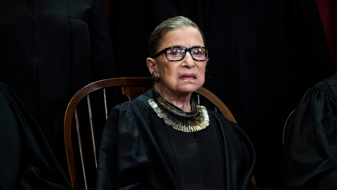 Ruth Bader Ginsburg Just Completed Treatment for a Fourth Bout with Cancer