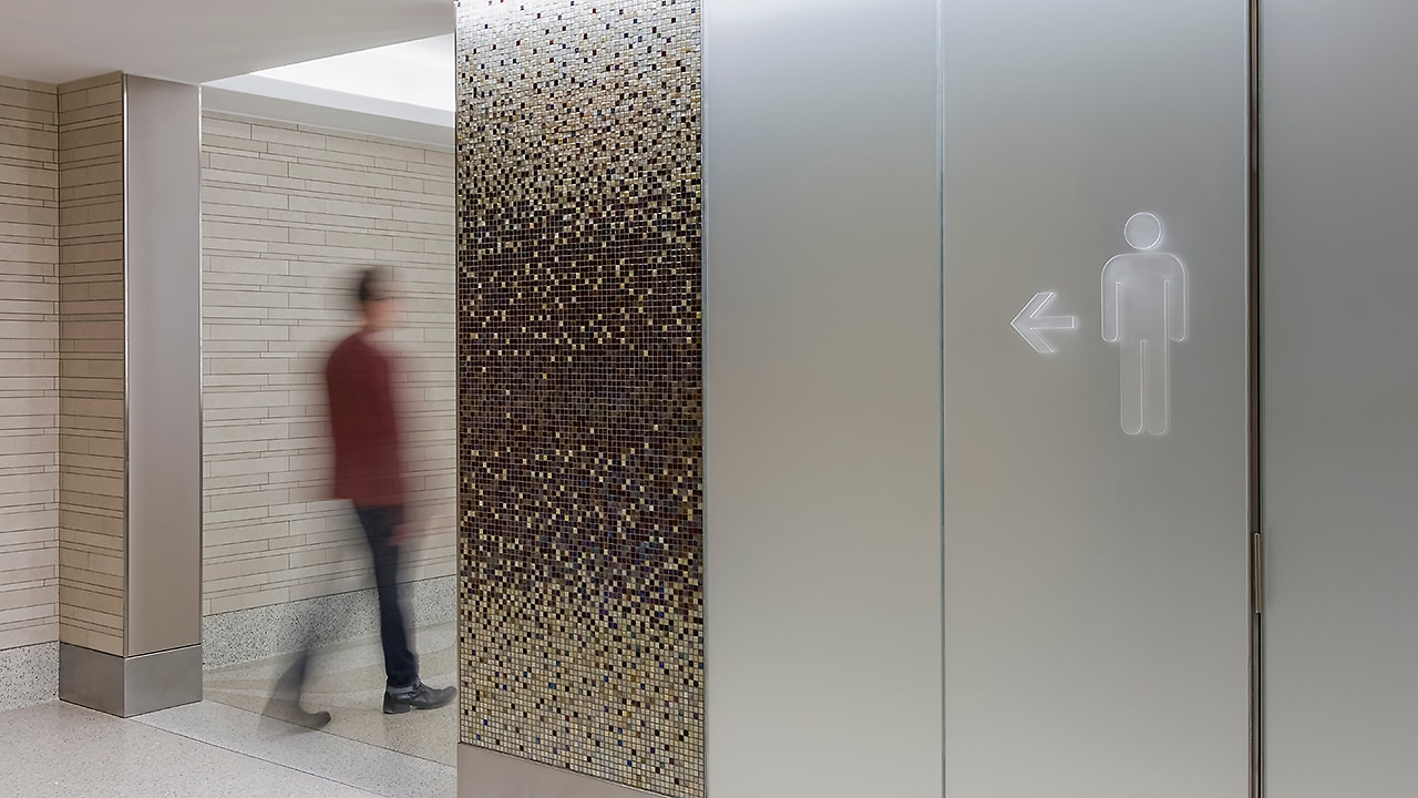 Want to try one of the best-designed bathrooms of the year? You'll have to go to LaGuardia