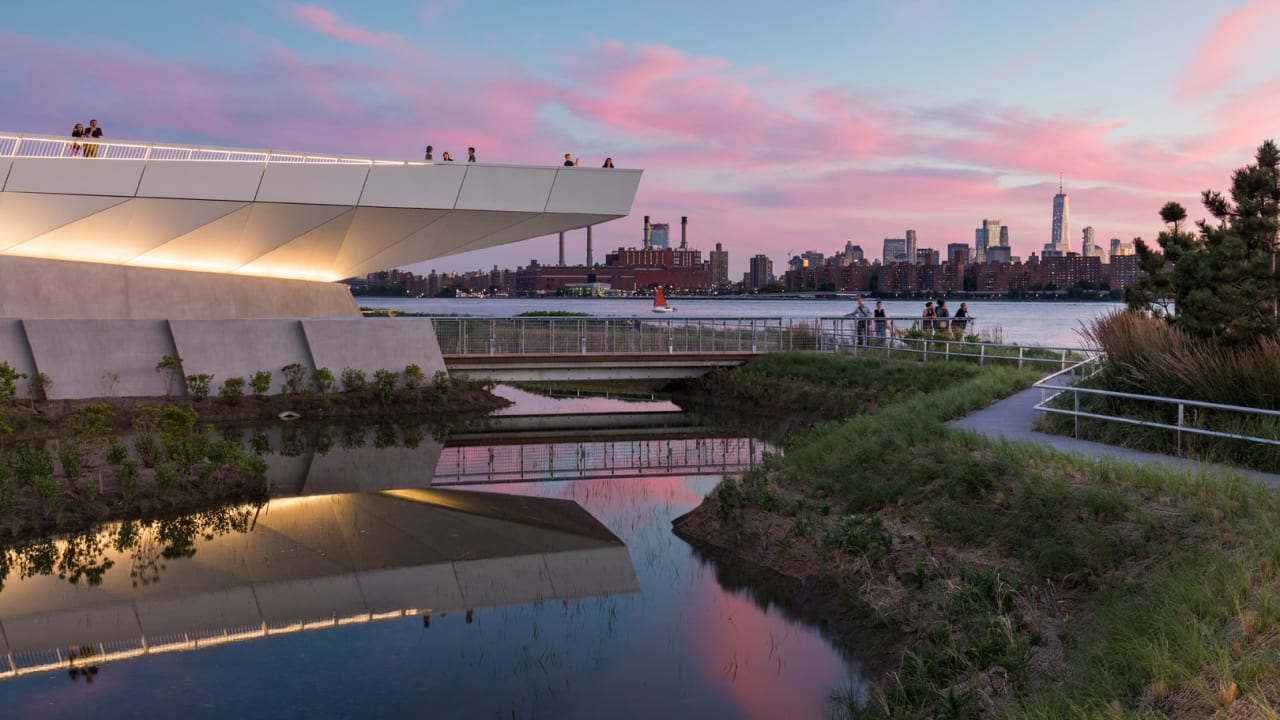 This public park is a model for urban design in the age of climate crisis