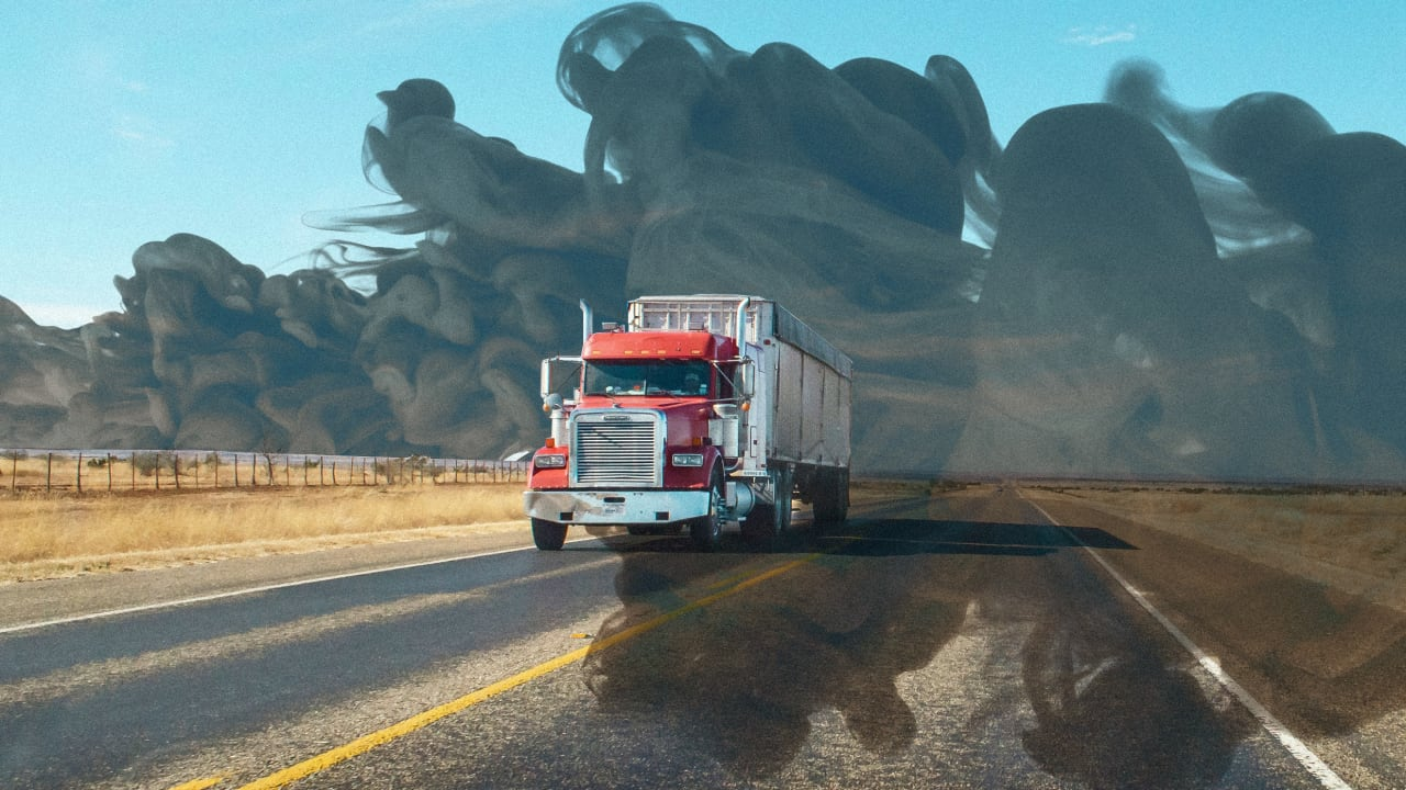 How truck companies misclassify drivers, worsening emissions