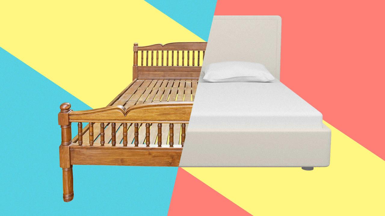 The bizarre secret history of beds