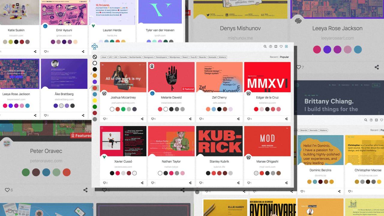 A new repository of the web's best portfolios helps you design yours like a pro