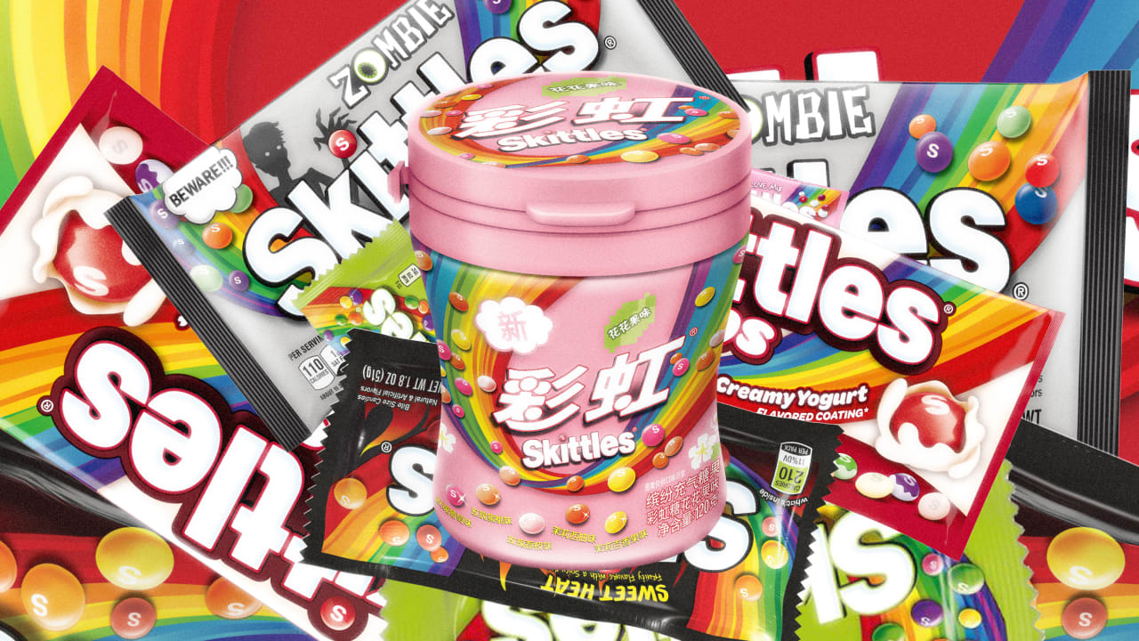 How Skittles Created 150 Flavors For Sweet Tooths Around The World