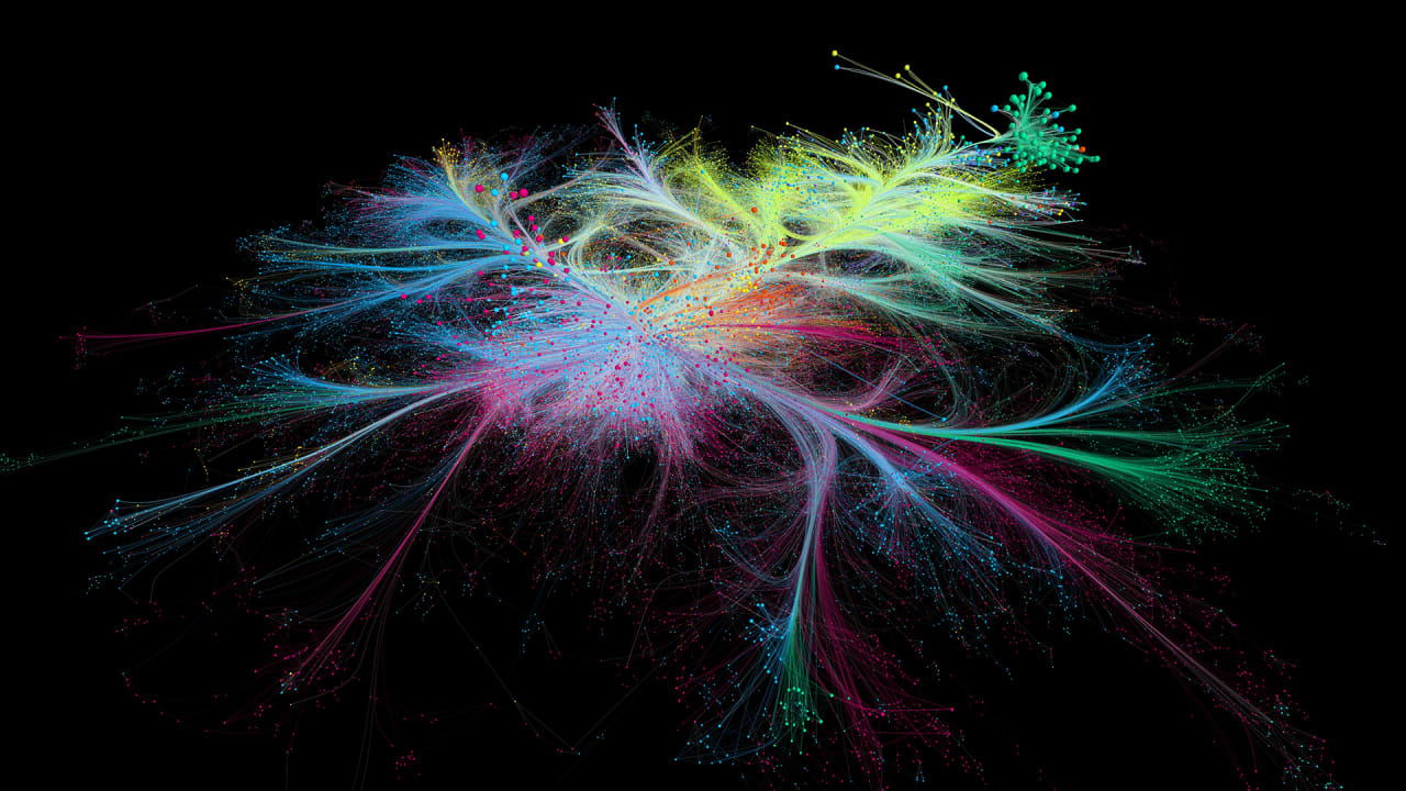 This mesmerizing 3D map visualizes millions of scientific studies
