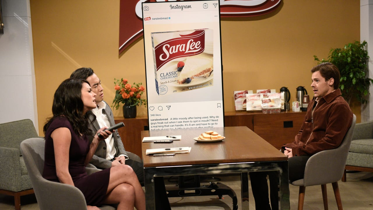 Sara Lee's spicy, unofficial SNL cameo is exactly what most brands want