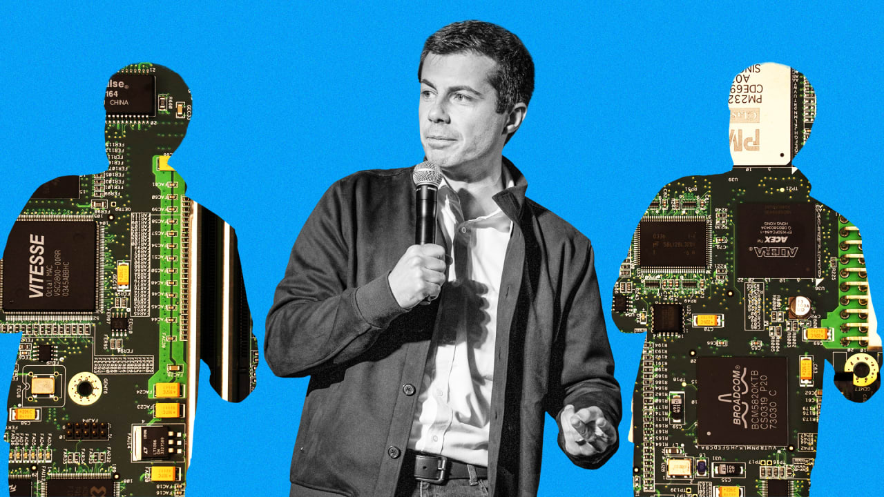 Pete Buttigieg is way ahead of his 2020 rivals when it comes to poaching talent from Big Tech