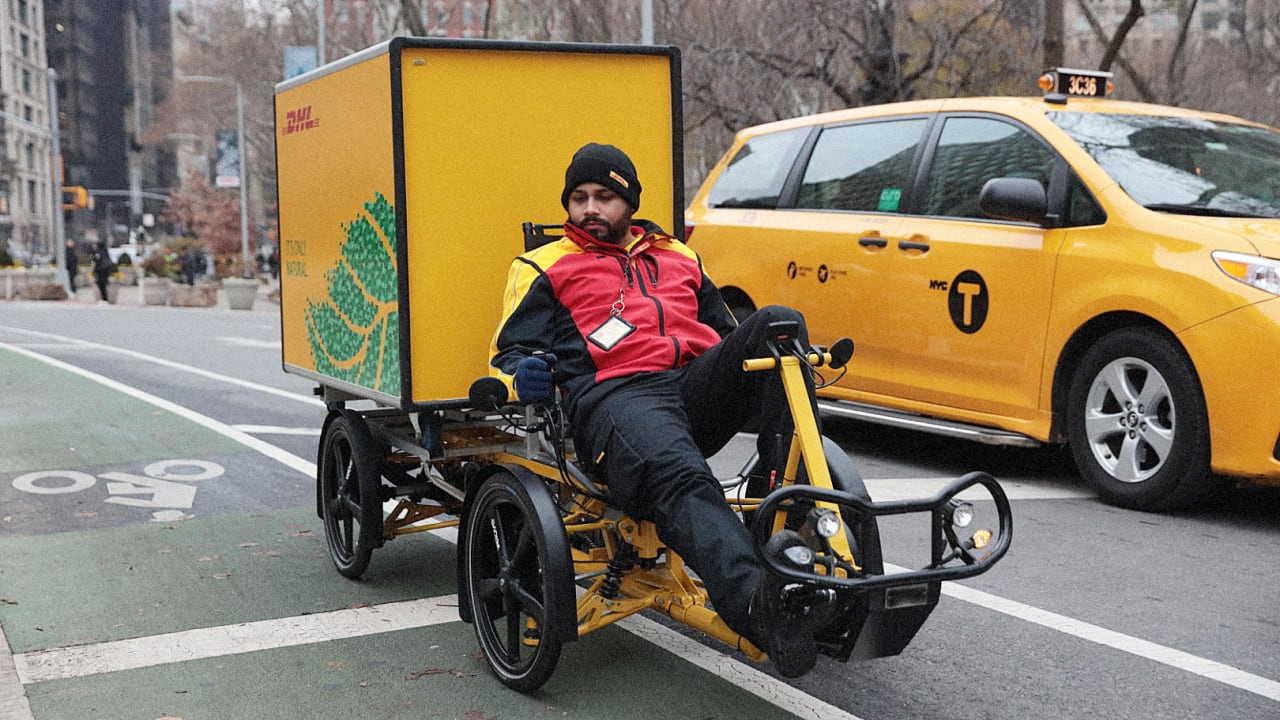 What will make cargo bike package delivery succeed in New York?