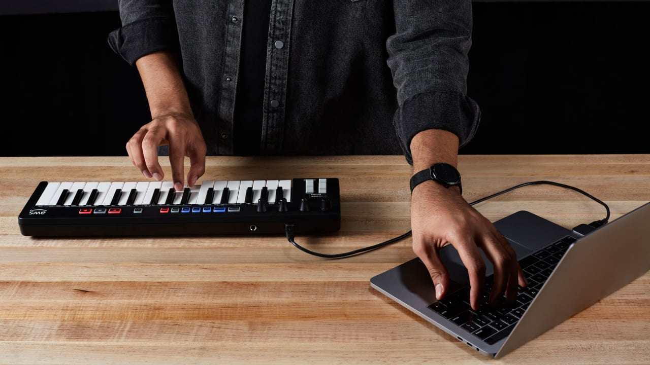 AWS's DeepComposer music keyboard is powered by AI