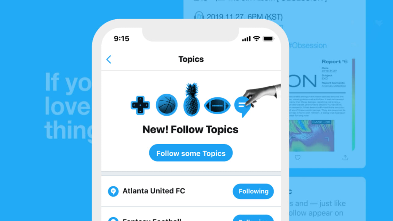 Twitter's big bet on topics and lists