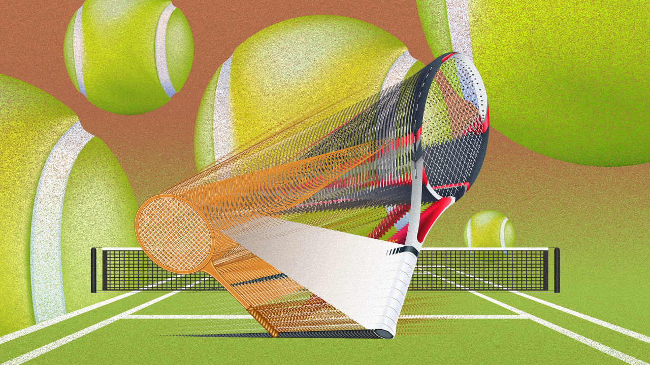How racket design made tennis faster—and more fun to watch