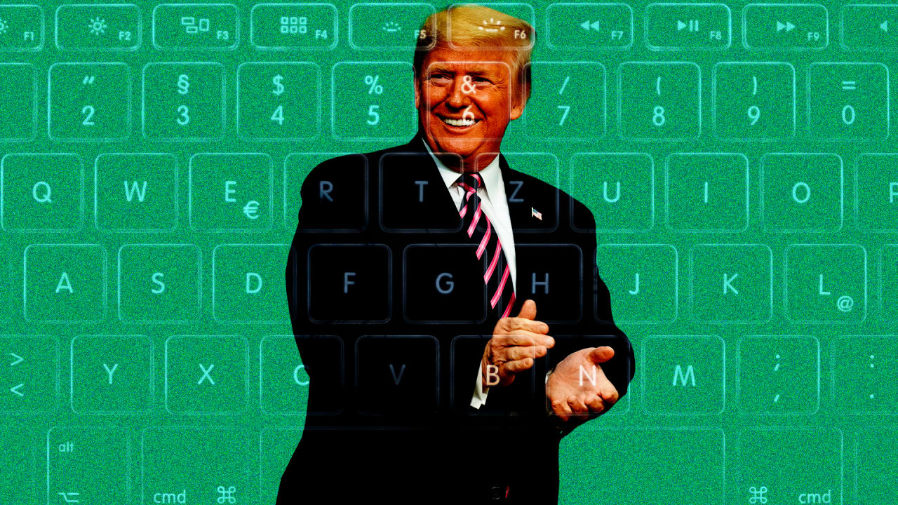 It is time to stop caring about Trump's typos
