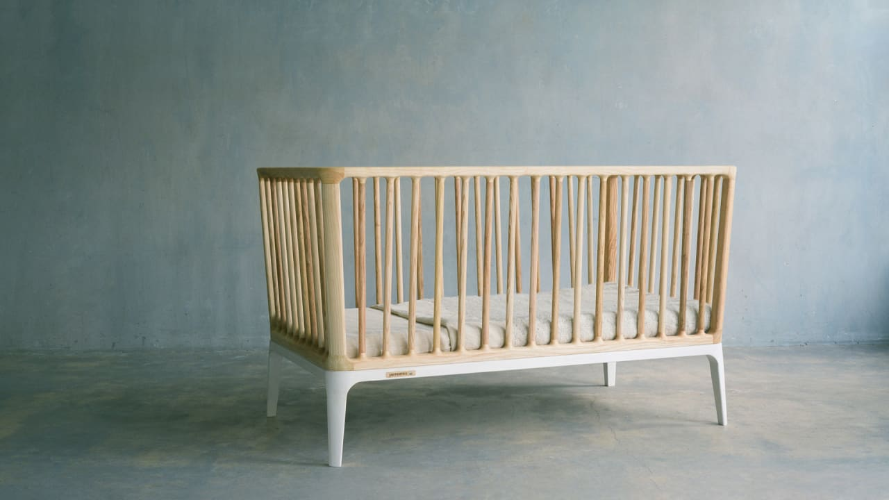 This simple crib cost $28,885 to make—because it was made with zero fossil fuels