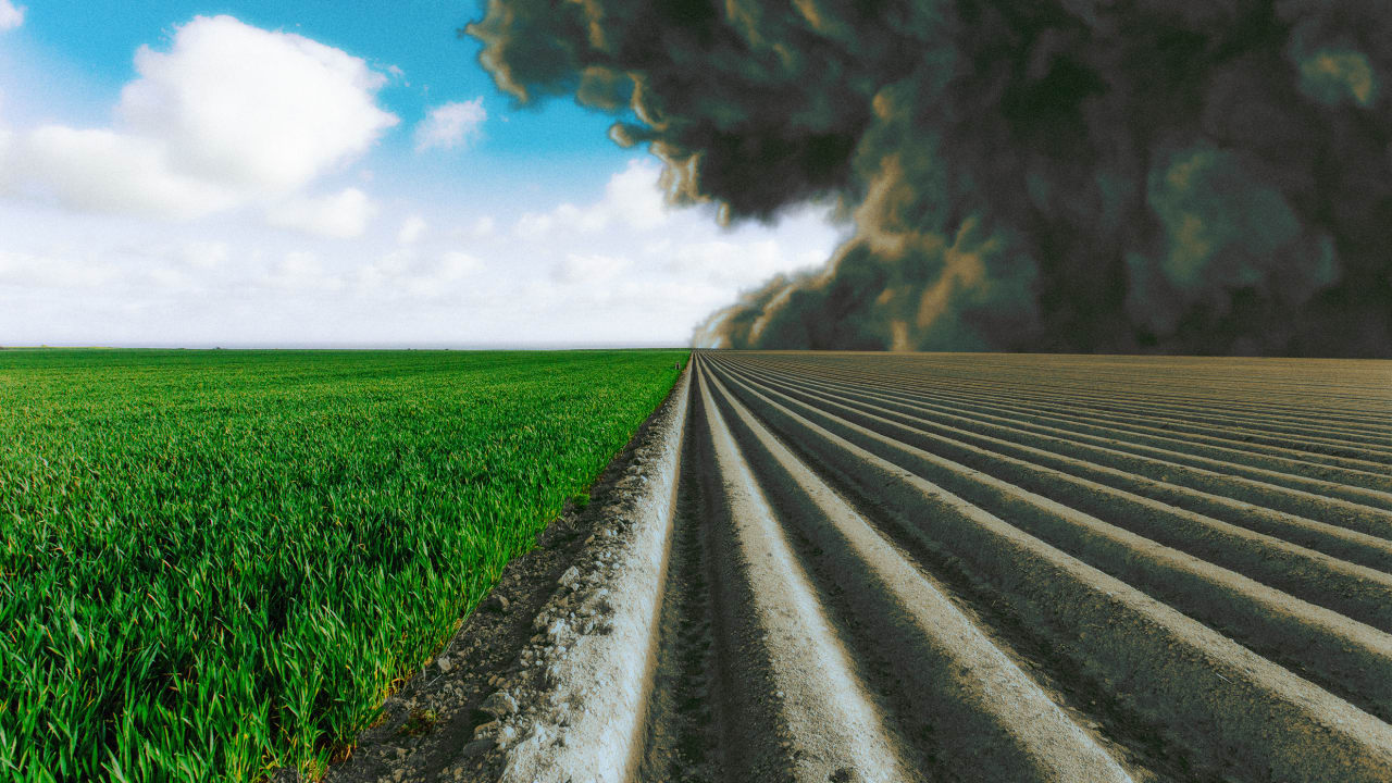 Warming is going to push farming North, releasing huge swaths of carbon stored in the soil