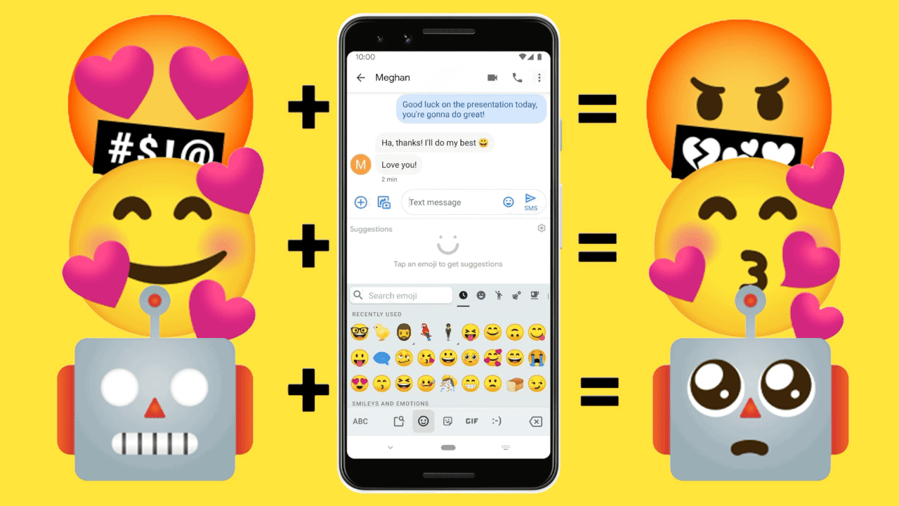 Can't find the perfect emoji? Google will now mix and match them