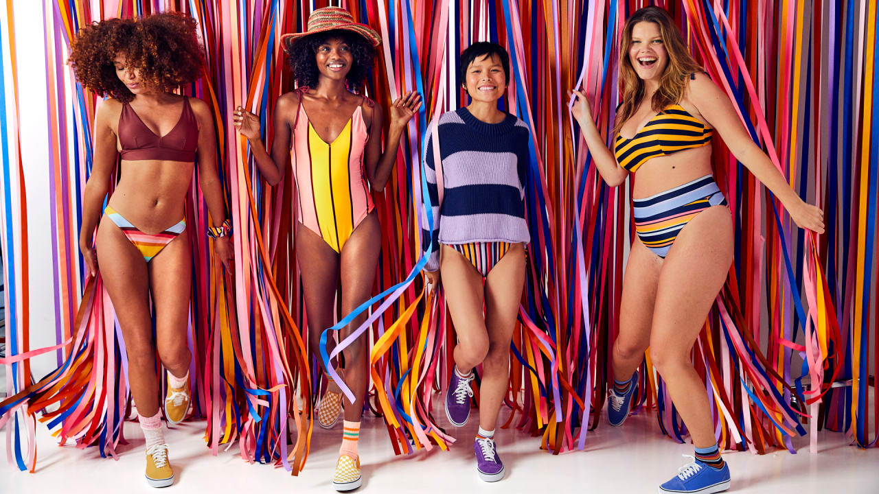 Aerie's new swimsuits are made from 1 million recycled plastic bottles