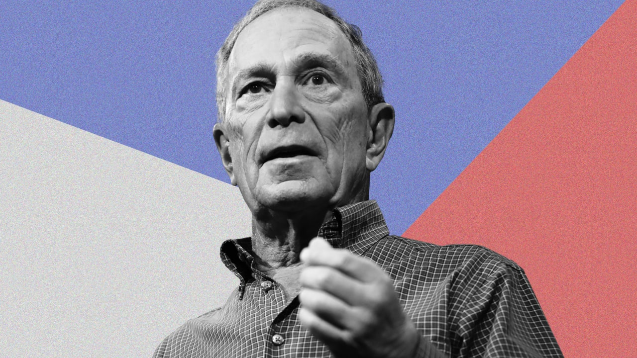 Michael Bloomberg was reduced to rubble in the first 7 minutes of the Democratic debate