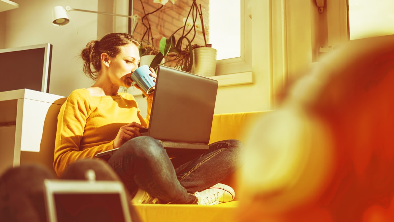 Forget work-life balance, and focus on productivity. You'll have more free time