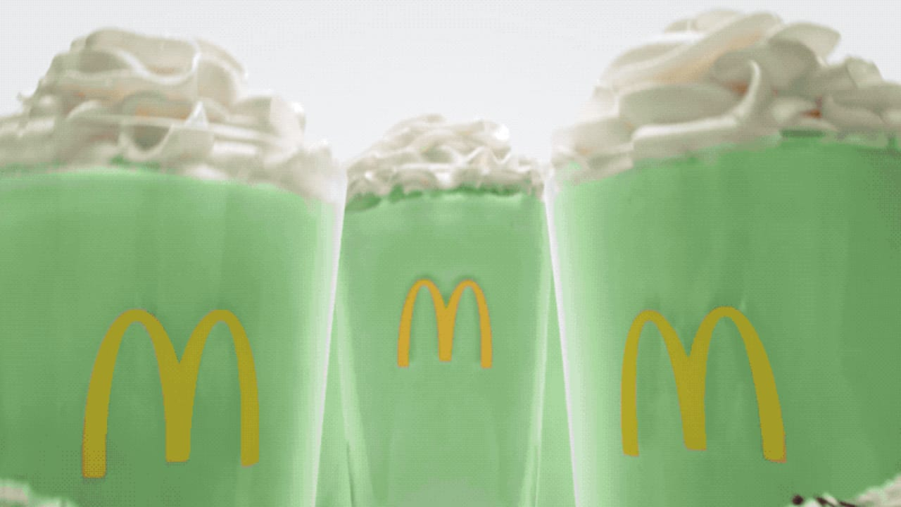 McDonald's celebrates Shamrock Shake's 50th anniversary with a $100,000 golden, diamond-encrusted cup that you could win