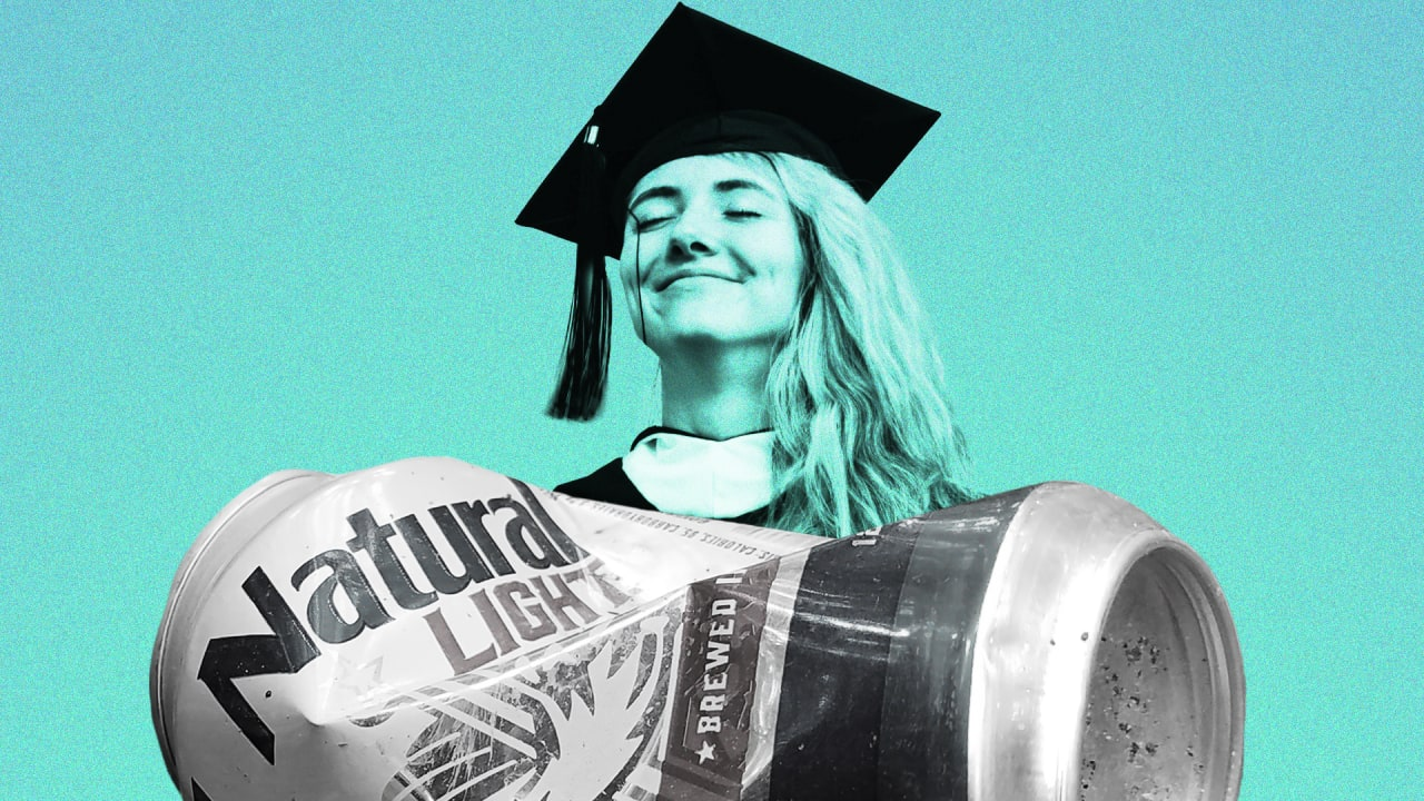 Natty Light wants to rent your diploma, but doesn't really want to solve student debt crisis