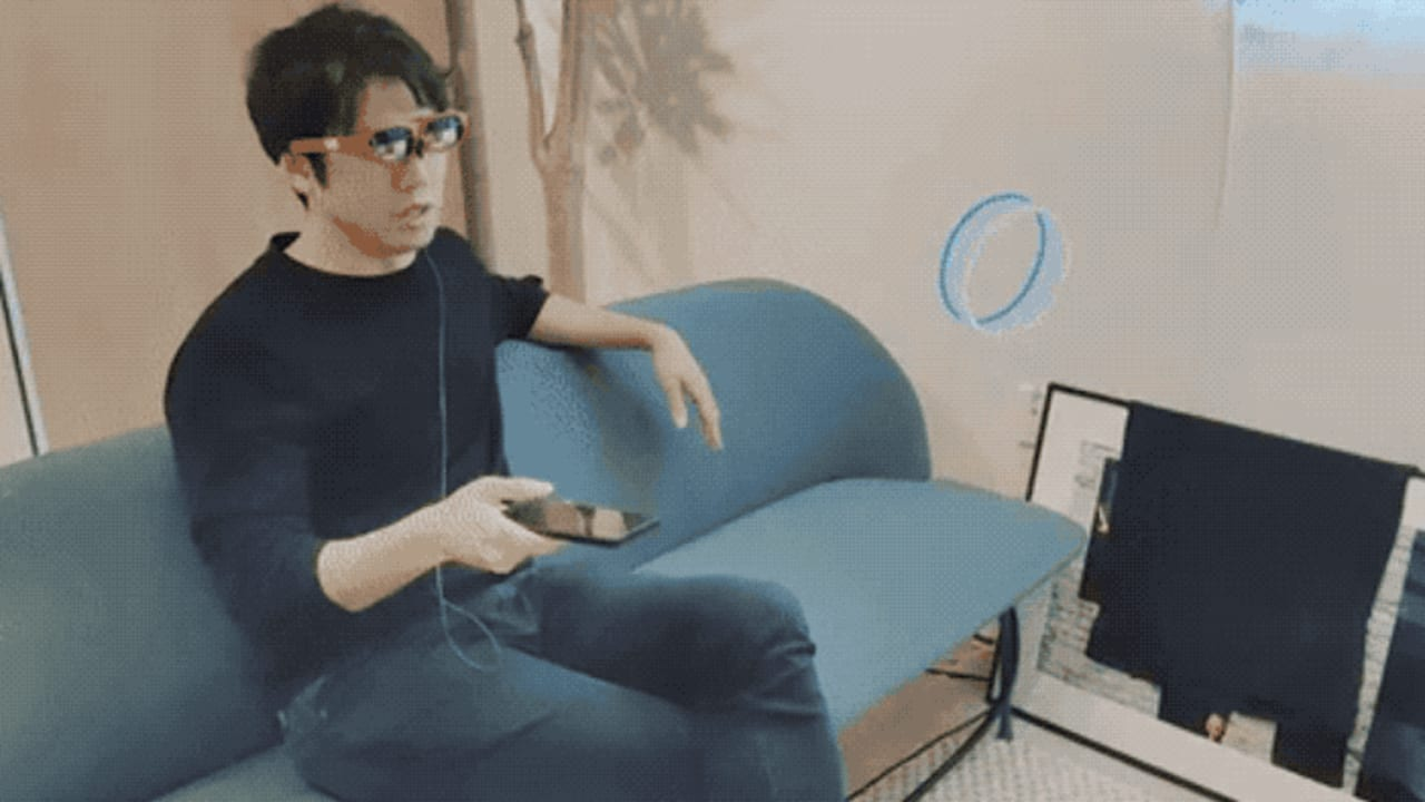 Nreal's svelte AR glasses make virtual collaboration more fun
