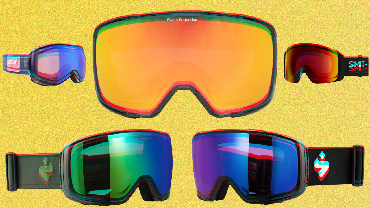 These are hands-down, the best ski and snowboard goggles