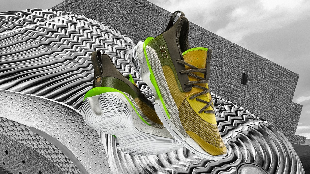 Steph Curry's new Under Armour shoes are starchitecture for your feet