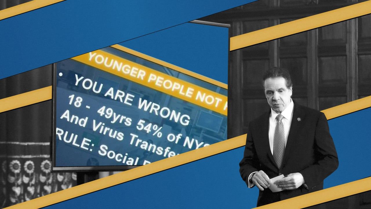 Andrew Cuomo's PowerPoints are COVID-19 information design at its best