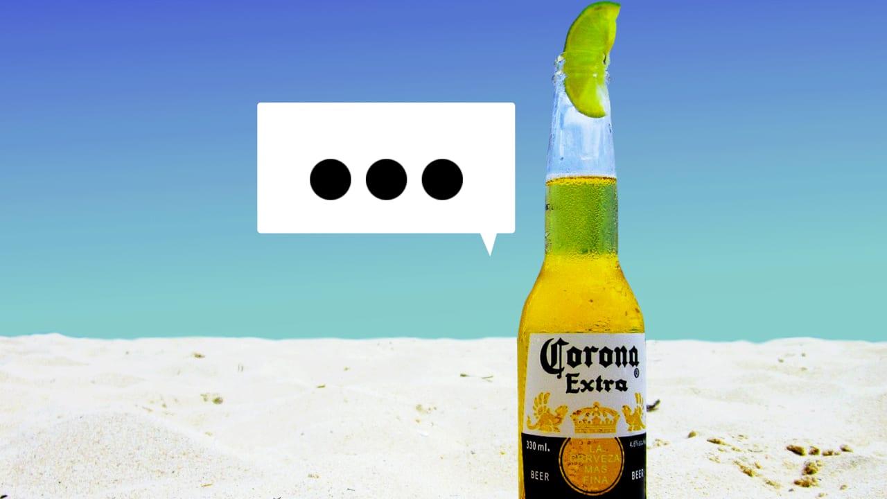 memes coronavirus corona response virus beers silence brand during why