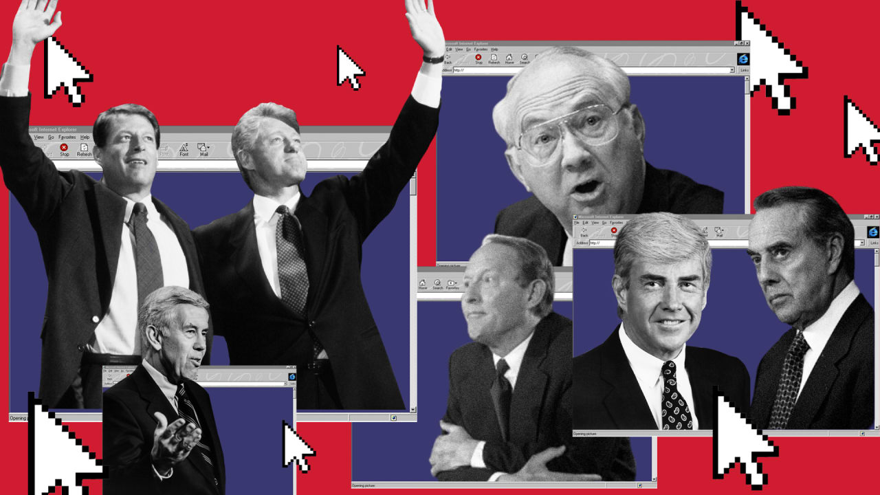 1996's campaign websites didn't change history. They're just hilarious