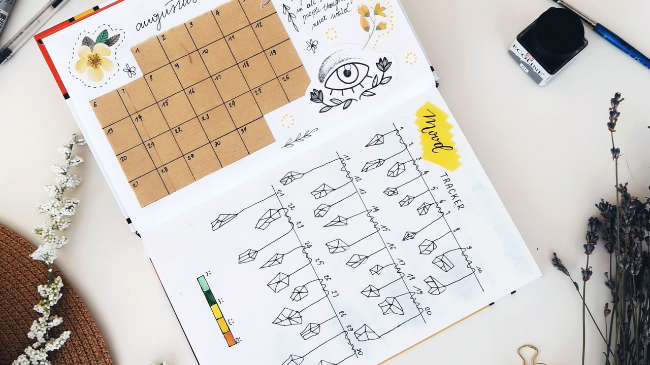How to use a bullet journal to kick-start your mindfulness practice