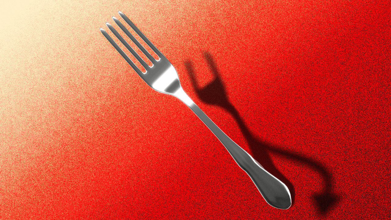 'A tool of the devil': The dark history of the humble fork