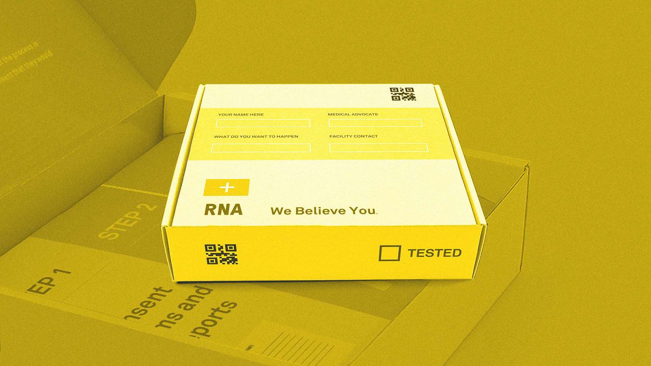 This redesigned rape kit aims to empower assault survivors—and the providers helping them