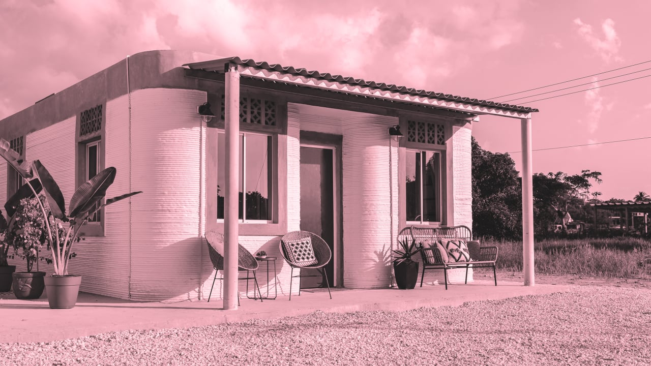 One day, you might live in a 3D-printed house