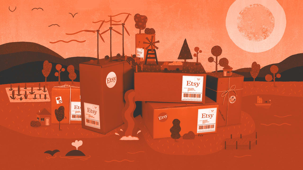 Etsy offsets the entire carbon footprint of its shipping—and it wants other retailers to do the same
