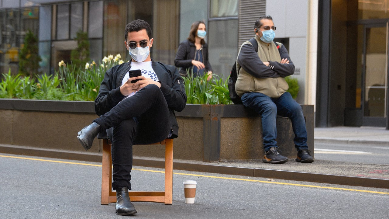 We should all wear masks now