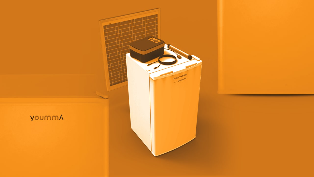 This pay-as-you-go solar fridge helps poor African families save money and food