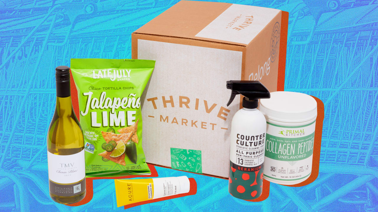 Why Thrive Market is a good alternative to Amazon for grocery delivery