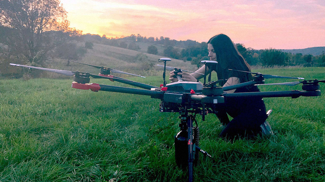 These drones can plant 40,000 trees in a month. By 2028, they'll have planted 1 billion